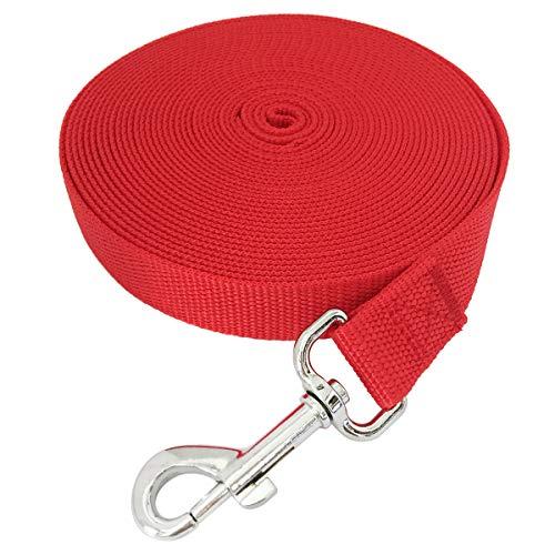 TAIDA-20ft-30ft-40ft-50ft-Nylon-Long-Training-Dog-Leash ...
