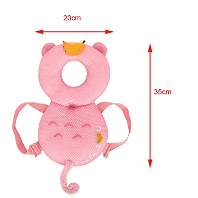 Baby Toddlers Head Protective Adjustable Head Safety Pads Baby Walker Protection Toddler Head Protector Back Shoulder Cushion Age 4 Months Older : Baby