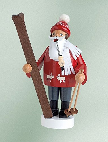 Red Skier German Incense Smoker SMK211X67
