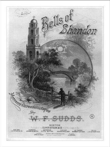 Historic Print (L): Bells of Shandon ()