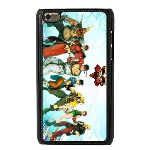 The best gift for Halloween and Christmas iPod 4 Case Black Street Fighter V Fighters (Fat Fighters Halloween)