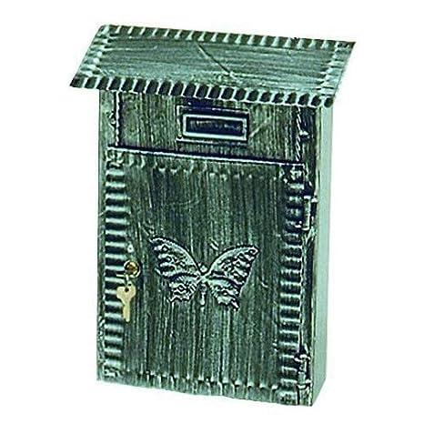 Vigor Blinky 27340-30 Cassetta Grande per Lettere Ferro Battuto, Antichizzata, 22x10x31: Amazon.es: Bricolaje y herramientas