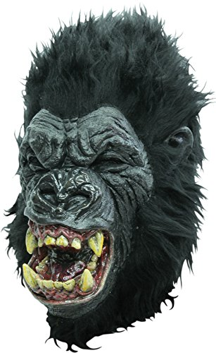 Ghoulish Men's Rage APE Gorilla Theme Party Latex Mask Halloween Costume Accessory -