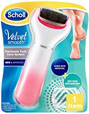Scholl Velvet  Smooth Foot Care System Express Pedi, Pink