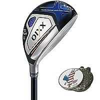XXIO X Hybrid + 1 Custom Ball Marker Clip Set (American Eagle)