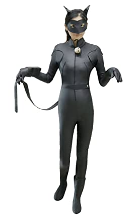 Super Coser Unisex Kids Miraculous Lady Black Cat Jumpsuit Cosplay Costume For Children (Black  sc 1 st  Amazon.com : catwoman costume for children  - Germanpascual.Com