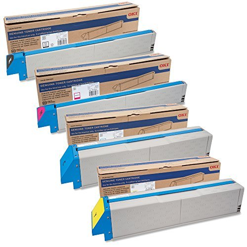 OKIdata C931 Standard Yield Toner Cartridge Set ()