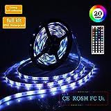 LED Strip Lights 5M 5050 SMD Waterproof 150LEDs RGB Color Changing Flexible LED Light Strip Kit