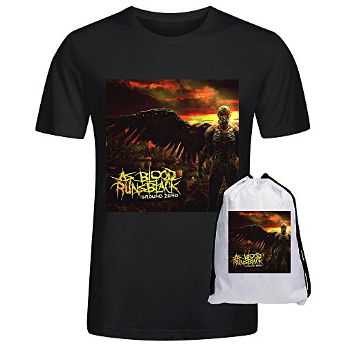 As Blood Runs Black Ground Zero Men T-Shirt Black