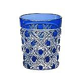 Kagami Crystal Edo Kiriko octagonal KAGOME crest kaiseki Cup T590-1-CCB T590-1-CCB