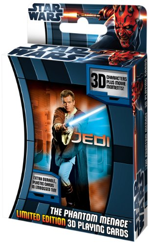 Star Wars Phantom Menace 3-D Lenticular Deck in Tin Omni Deck