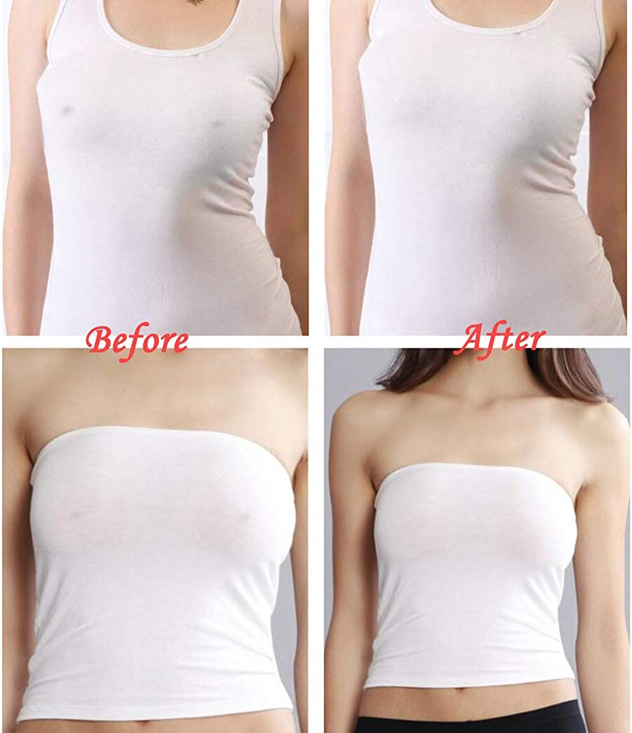 Nipplecovers Adhesive Silicone Bra Breast Lift Pasties Reusable Breast Petals