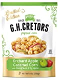 G.H. Cretors Popped Caramel Corn, Orchard Apple, 8 Ounce