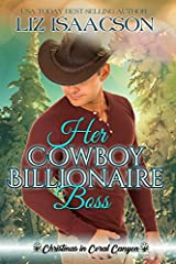 A man who's traded his power suits for cowboy boots has feelings for his nanny...can they find love this Christmas?Since the death of his wife a few years ago, Eli Whittaker has been running from one job to another. He's decided to brave the ...