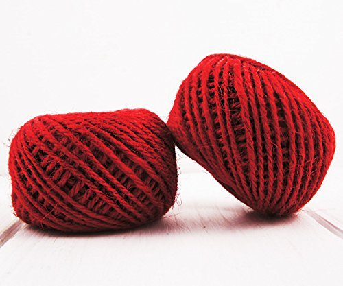 8.3m 27ft 9yrd Red Wool Twisted Braid Felt Rope Cord Beading Knotting String Shamballa Kumihimo Macrame Thread 1.5mm - Wool Thread Felt