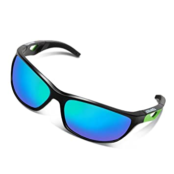 0494608b736 Tsafrer Unisex Polarized Sports Sunglasses