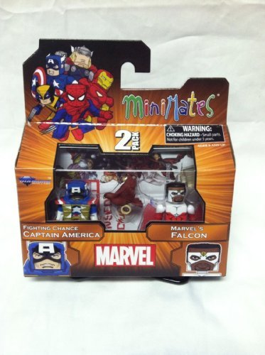 (Marvel Minimates TRU Wave 18 Fighting Chance Captain America And Marvel's Falcon by DIAMOND)