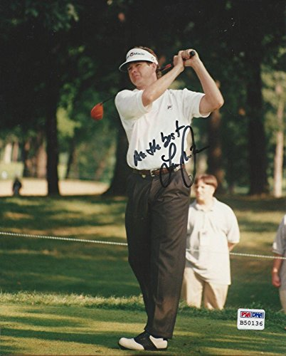 Lee Janzen Signed Photograph - Golfer 8x10#B50136 - PSA/DNA Certified - Autographed Golf Photos (8x10 Photo Golf Certified Autograph)