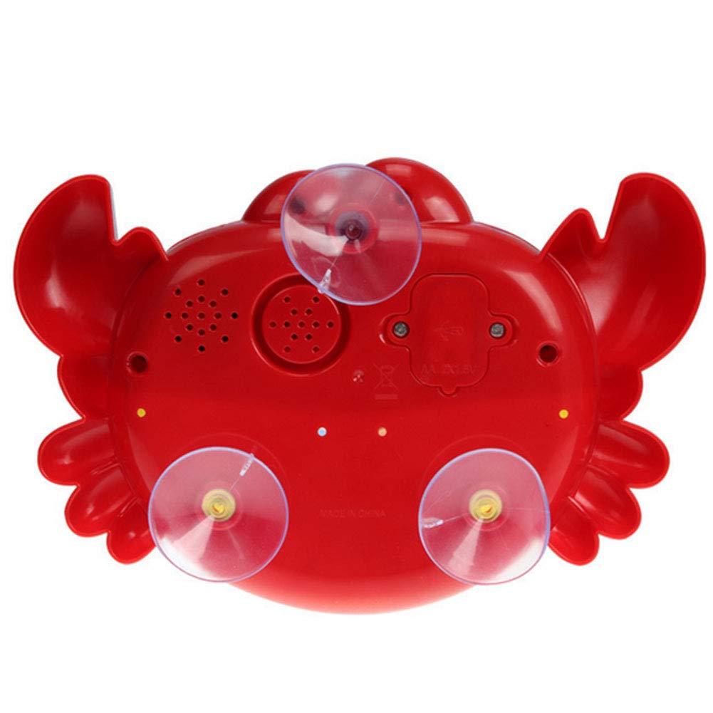 Asien Ba/ño de Burbujas autom/ática de la Herramienta del Fabricante Ventilador de la Burbuja de la m/áquina de Cangrejo Juguete para ni/ños ba/ño del beb/é.