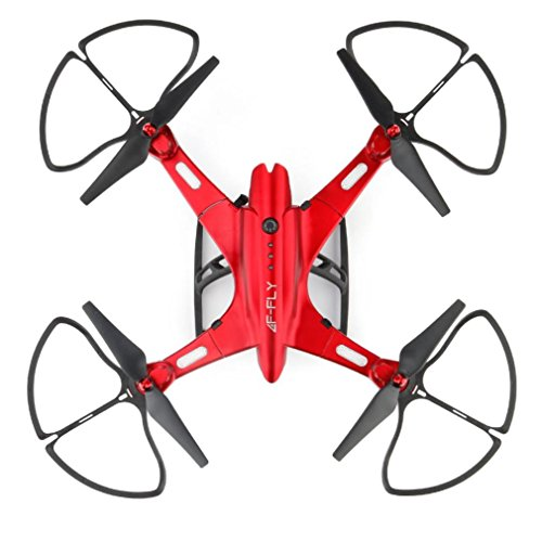 Inverlee Utoghter 69508 Foldable Wifi FPV Camera 4CH 2.4G 6-Axis RC Quadcopter Drone Toys (Red) by Inverlee