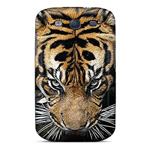 New Style CollectingCase Eye Of The Tiger Premium Tpu Cover Case For Galaxy S3