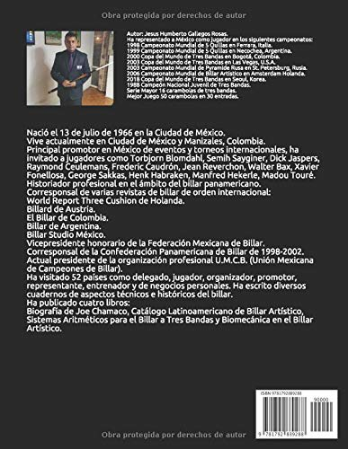 BIOGRAFIA DE PEDRO E. MAUPOME: RELIQUIAS DEL MARFIL BILLARISTAS QUE HICIERON HISTORIA: Amazon.es: GALLEGOS ROSAS, JESUS HUMBERTO: Libros