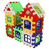 Aelove 24pcs DIY House Building Blocks Toys Kids Creative Educational Construction Toy