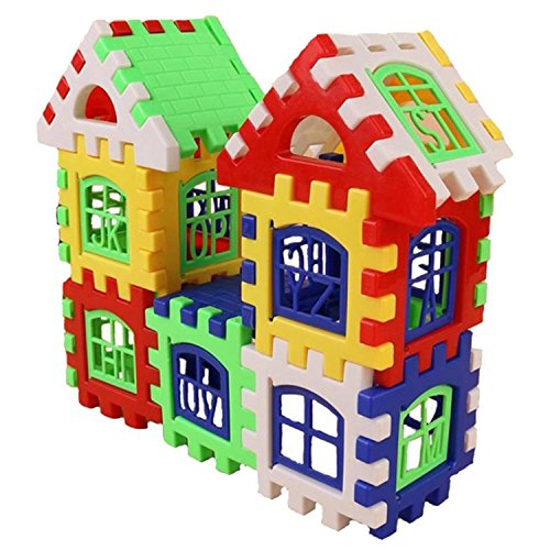 Creative Kids Toy Store - Youcoco 24pcs DIY House Building Blocks Toys Kids Creative Educational Construction Toy