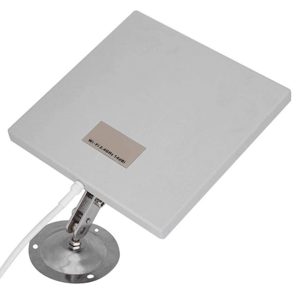 2.4Ghz 14 dbi Antenna Panel High Gain WiFi Extender Directional Long Range Indoor Outdoor Directional Wireless Antenna
