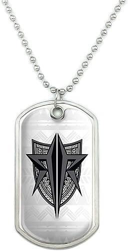 Roman Reigns Logo Pendant Necklace WWE Authentic