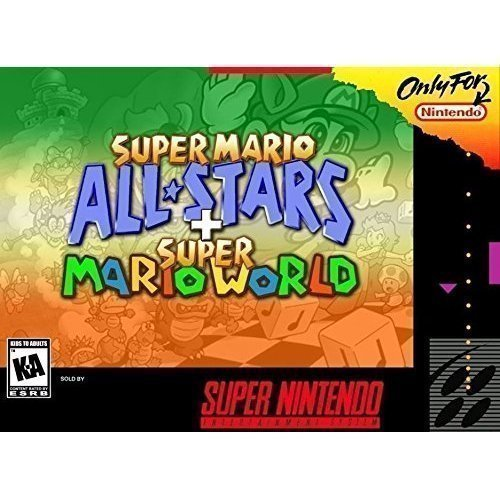 mario all stars super mario world - 1