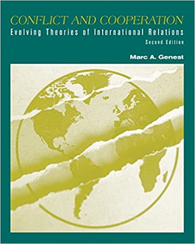 Amazon com: Conflict and Cooperation: Evolving Theories of