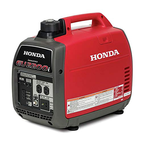 Honda EU2200i 2200-Watt Super Quiet Gas Power Portable Inverter Generator from Honda