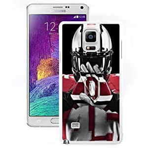 Nice and Unique Note4 Case Design with Ohio State Football White Case for Samsung Galaxy Note 4 N910S N910C