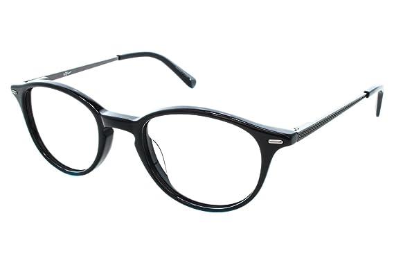 Amazon.com: Original Penguin Eye THE SIMPSON Eyeglasses 47 Black ...