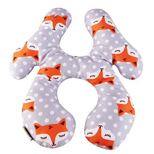 Baby Neck Support Pillow Kakiblin Infant Travel Pillow
