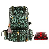 Kingdomfishing Multifunctional Fishing Backpack Tackle Bag Detachable Combination Lure Backpacks Fishing Gear Storage Shoulder Handbags with Phone Bag ...