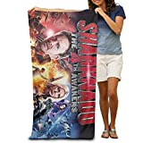 Unisex Sharknado 4 The 4th Awakens Swimming Towel/Bath Towel/Custom Towel 31.5