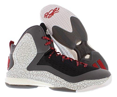 Adidas As D Dickick Rose 5 Boost Scarpe Da Basket Da Uomo Taglia Nero / Bianco / Onice