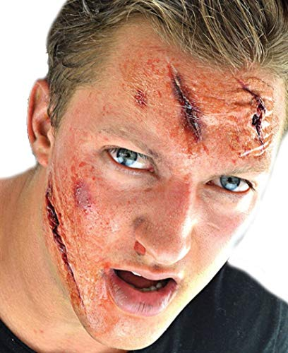 Woochie 3D FX Kit - Professional Quality Halloween Costume Makeup - Injury