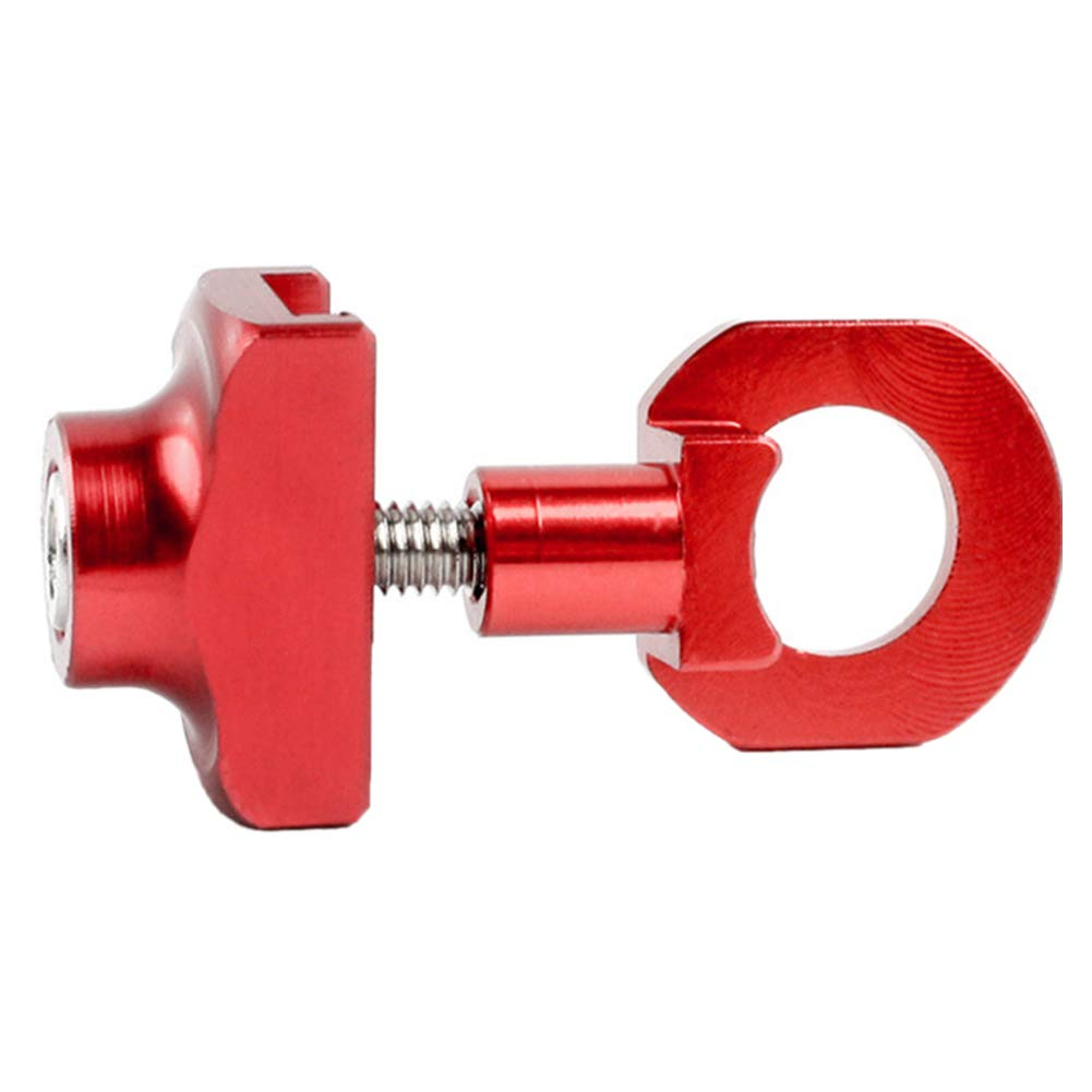 Bicycle Chain Adjuster Tensioner Aluminum Alloy Bolt For Single Speed Bike Tool