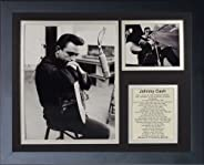 Legends Never Die Johnny Cash III Framed Photo Collage, 11 x 14-Inch