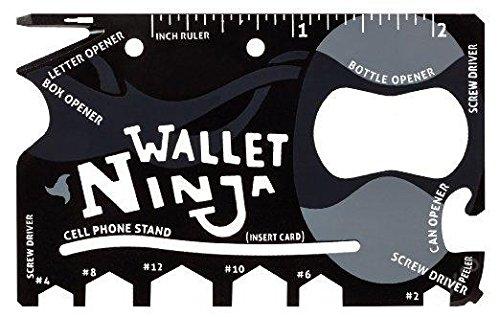 Wallet Ninja, herramienta multifunción para cartera 18 en 1 ...