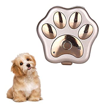 Balscw-Z Pet GPS Tracker, Impermeable Inteligente WiFi Mini localizador de Mascotas GPS Collar