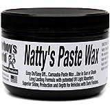 Poorboy's World PB-NPBLK08 Nattys Carnauba Paste Wax, Black