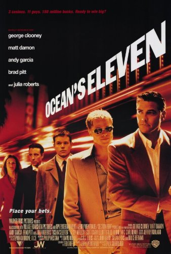 Pop Culture Graphics Ocean's Eleven 27x40 Movie Poster