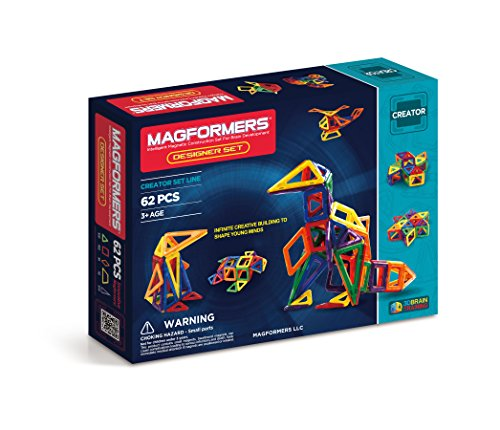 Magformers Designer 62 pieces Educational Construction