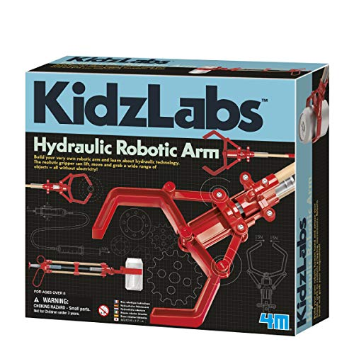 4M Hydraulic Robot Arm Kids Science Kit
