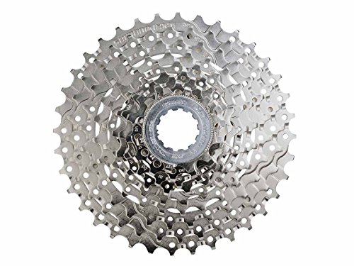 Shimano CASSETTE SPROCKET, CS-HG400-9, 9-SPEED, 12-14-16-18-21-24-28-32-36(BH), PRE-ASSEMBLED (CS CAP) ()
