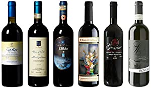 5 Regions Red Sampler, 6 x 750 mL Wine Mixed Pack